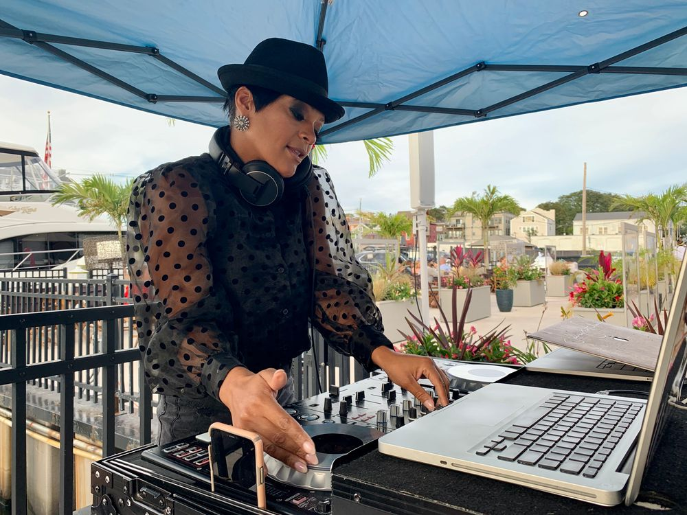 Valentina Marianetti performs twice each week at The Reef in Newport. Before COVID-19 hit, she worked primarily as a wedding DJ.