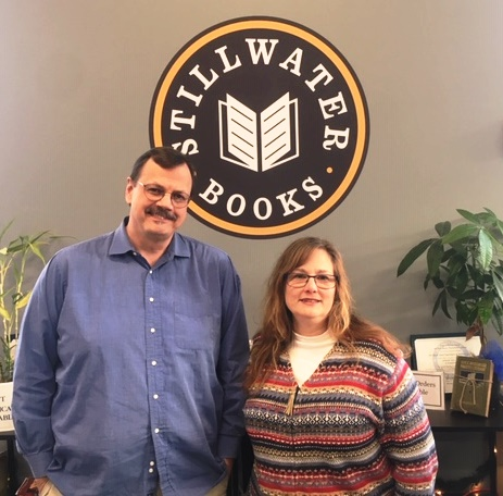 Steven and Dawn Porter at Stillwater Books