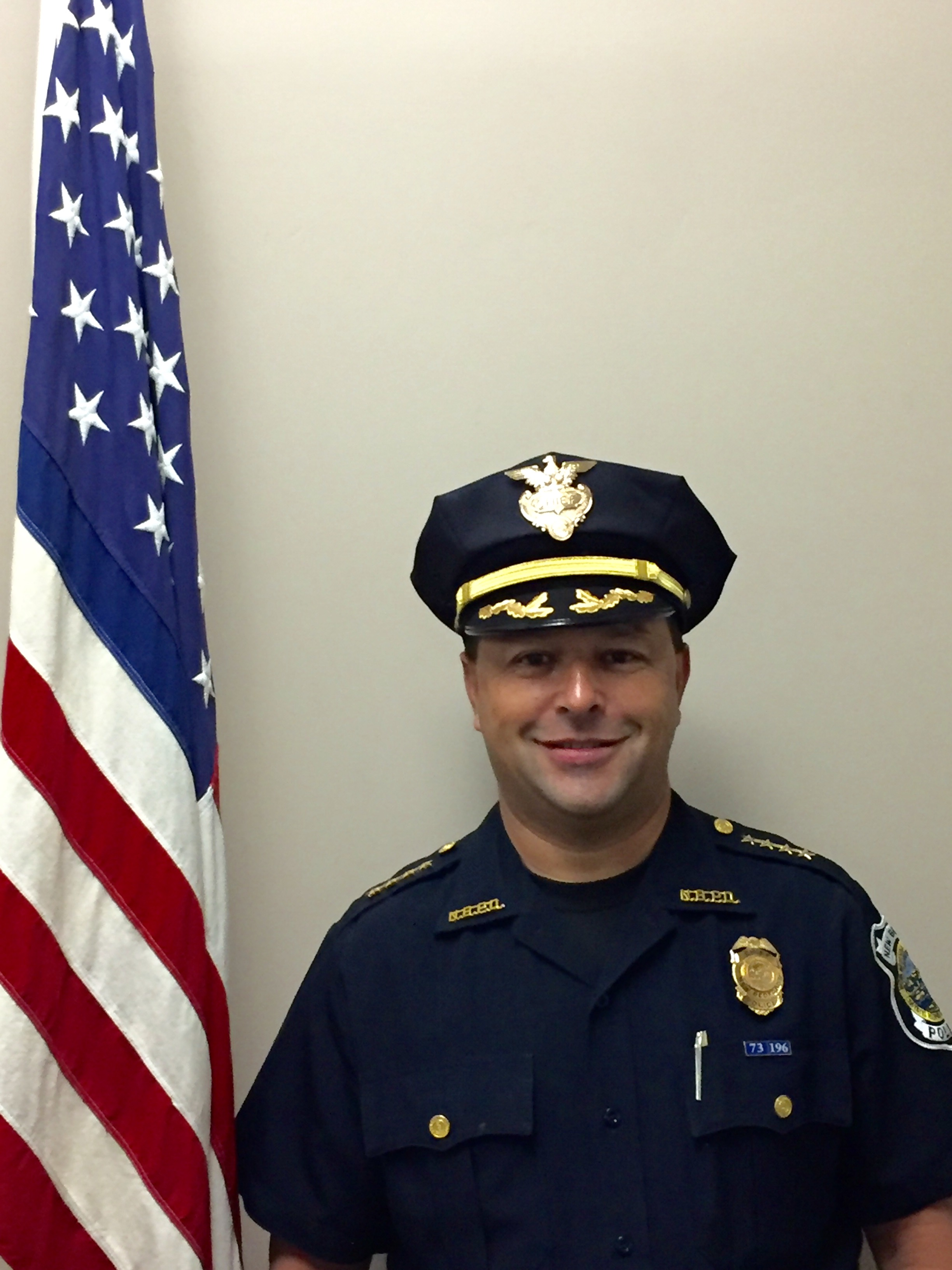 New Bedford Police Chief Joseph C. Cordeiro
