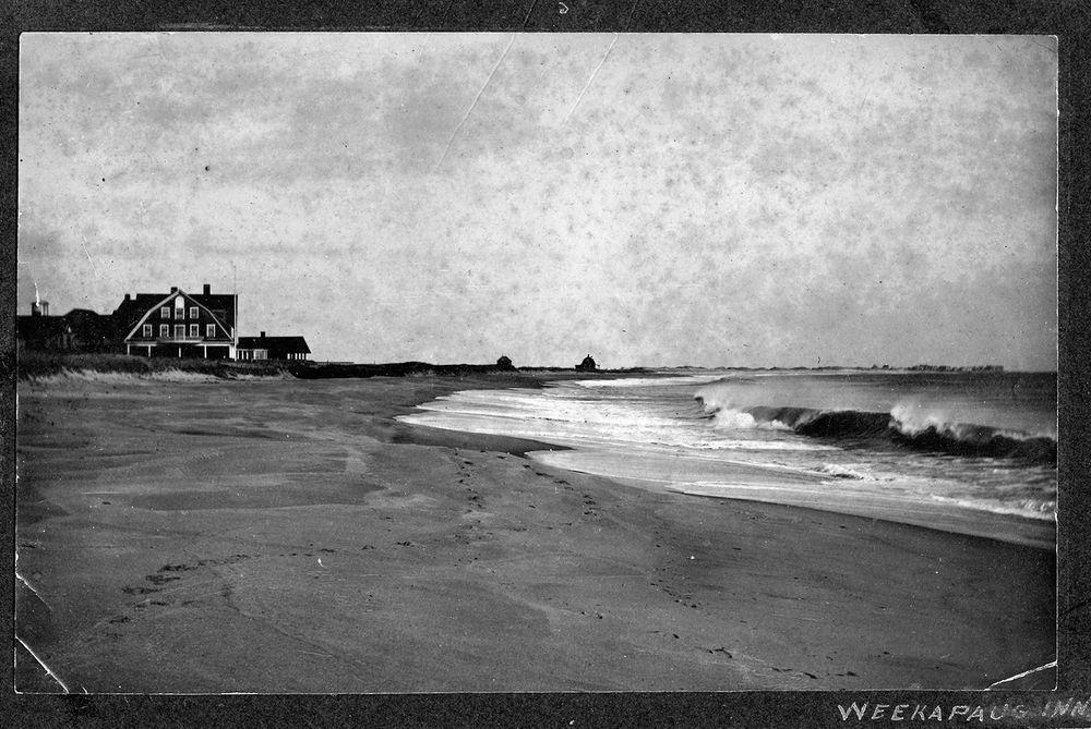 The Weekapaug Inn is pictured in 1911.