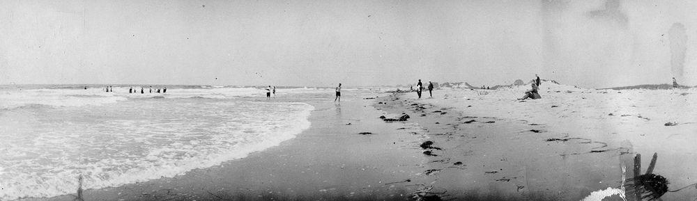 The beach as it appeared circa 1929.