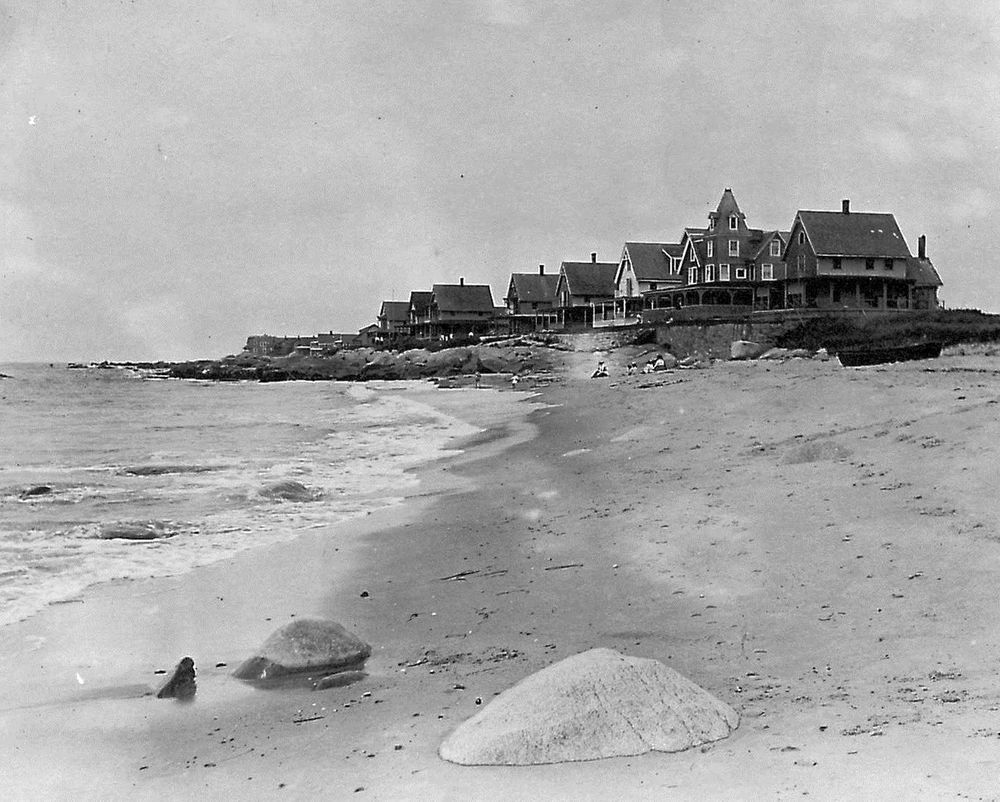 Seaside cottages in Weekapaug are pictured in this undated photo.