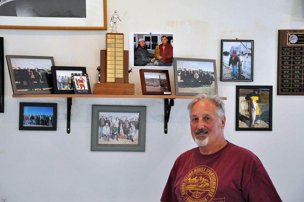Jim Milardo, member of the Rhode Island Mobile Sportfishermen.