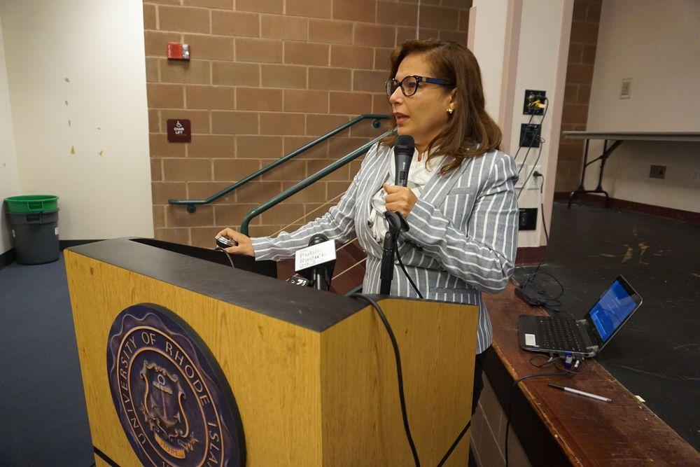 RI Education Commissioner Angélica Infante-Green