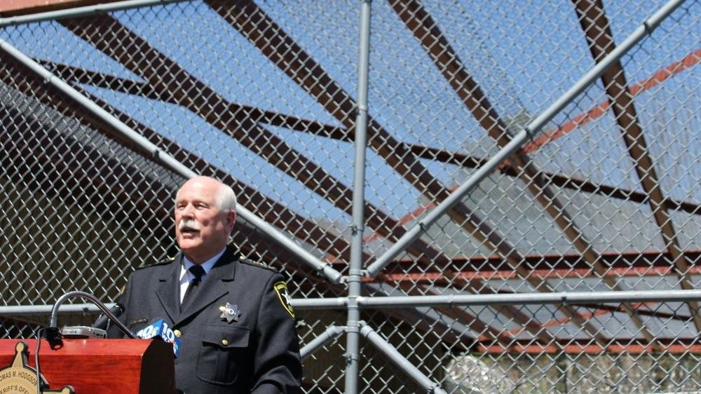 Sheriff Thomas Hodgson characterized DHS' decision as politically motivated.