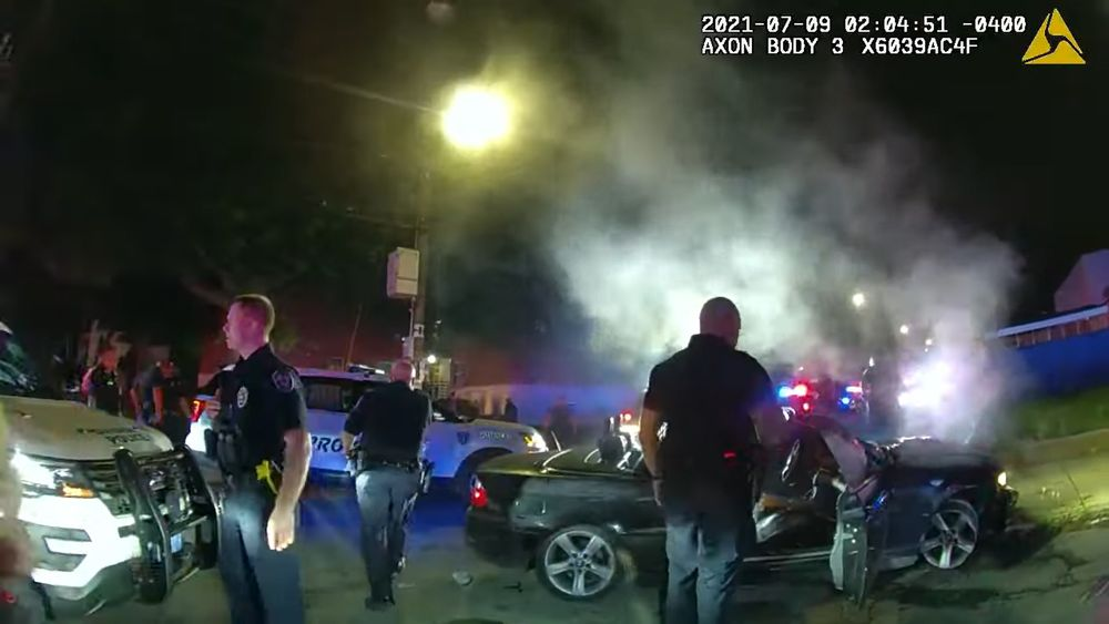 Body cam footage shows violence during police arrest of teens in Providence