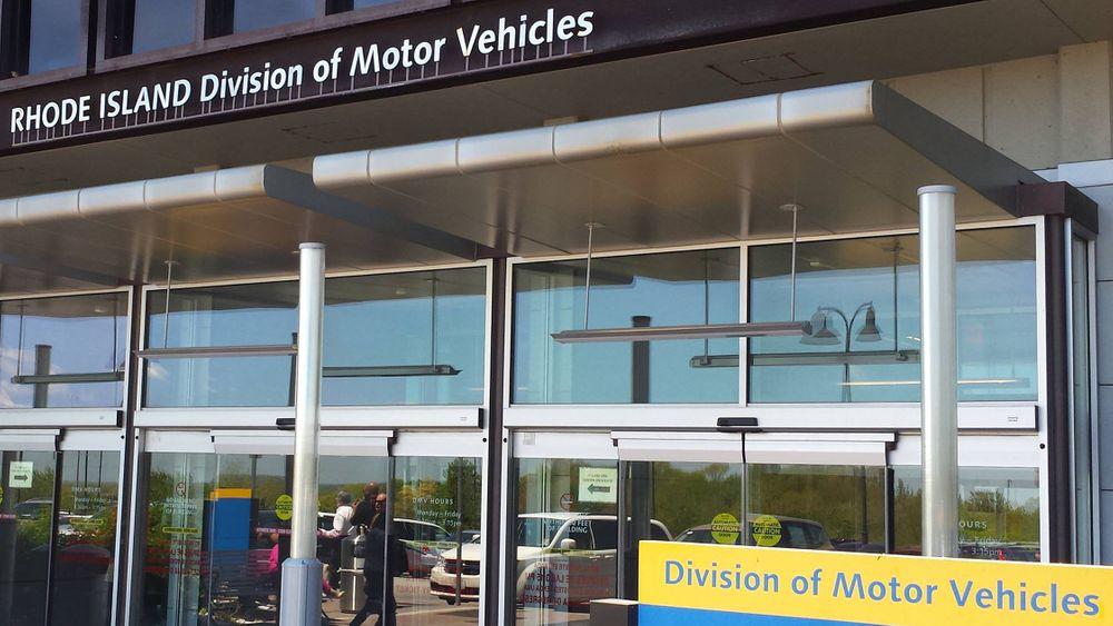 The Cranston headquarters of the Rhode Island DMV.