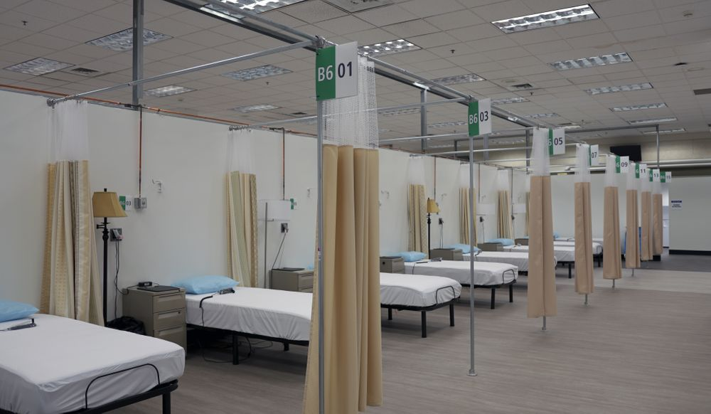 The Kent Field Hospital in Cranston will open on Monday.