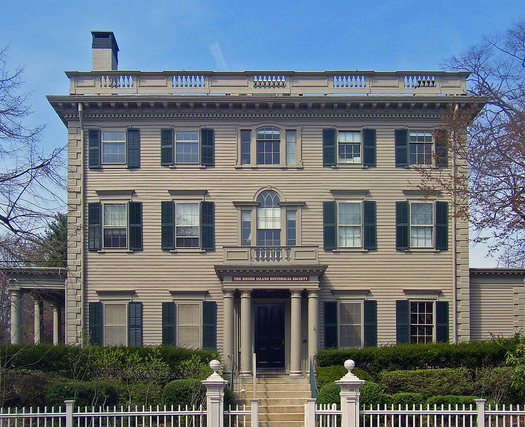 The exhibit will be displayed on the first floor of the Rhode Island Historical Society's Aldrich House in Providence.