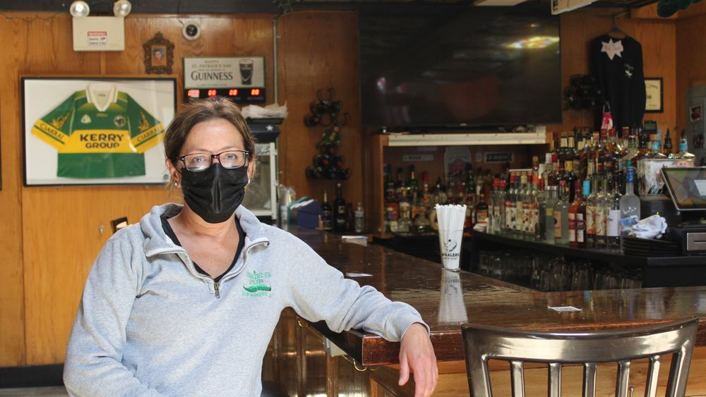 Kerrie Philbin is general manager at O'Brien's Pub, a restaurant and bar in downtown Newport.