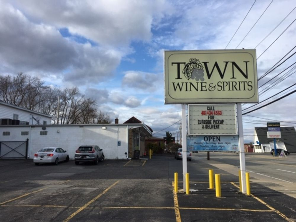 Liquor stores like Town Wine & Spirits in East Providence are seeing a boom in business.