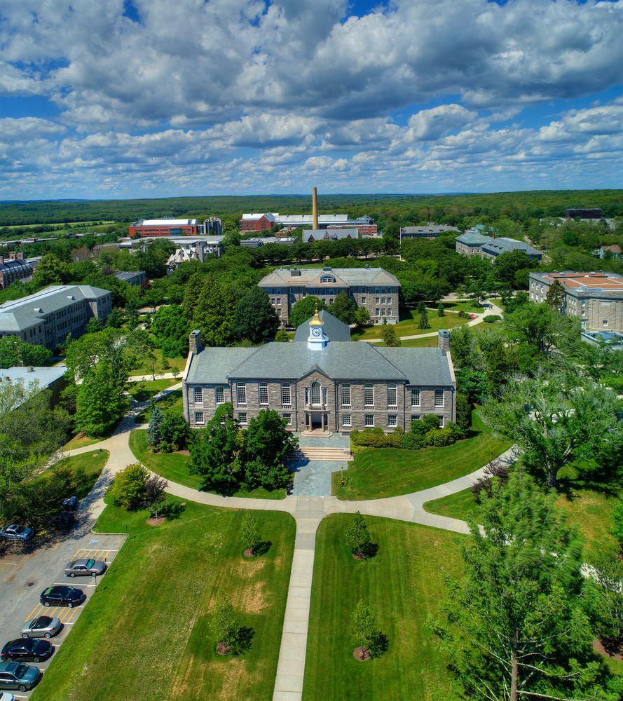The University of Rhode Island campus.