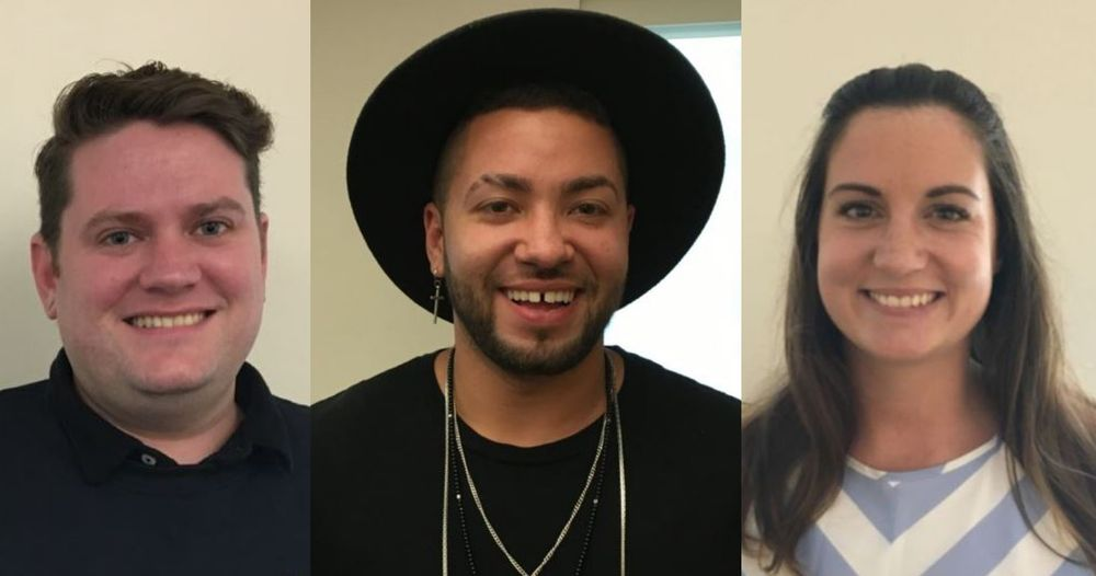 Michael Wynn, Christian Delacruz, and Tanya Townsend grew up in Rhode Island's foster care system. They spoke at an empowerment summit for youth in state care hosted by Adoption Rhode Island earlier this year.
