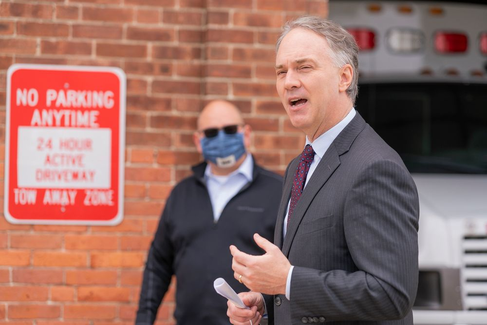 "New Bedford mayor Jon Mitchell and the city's health department issued a unique set of emergency orders dedicated to preventing outbreaks in industrial facilities. ""We're in the business of processing food and making things that are deemed to be essential,"" Mitchell said. ""We understood that we had to be very assertive and not wait for word from the state or Washington about what to do."""