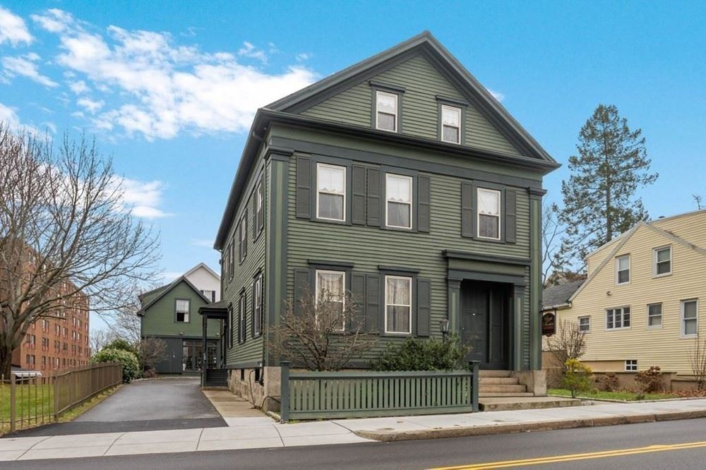 Lizzie Borden's former home in Fall River is now a museum and bed-and-breakfast.