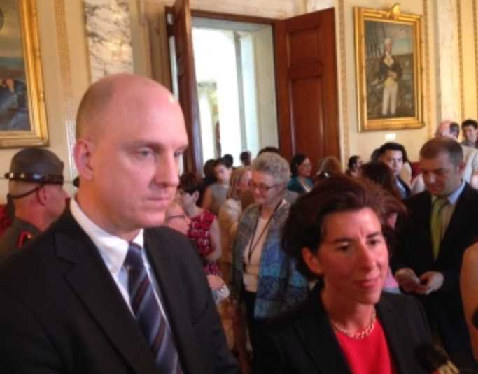 Wagner and Raimondo in 2015