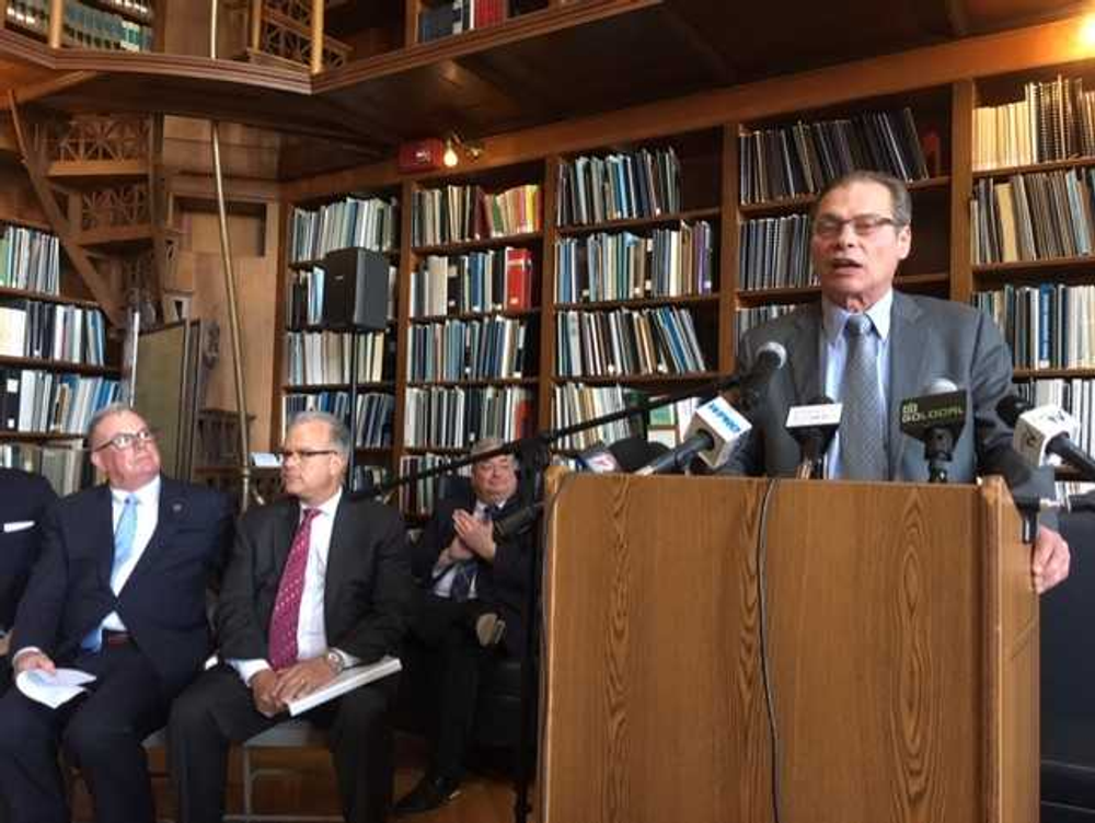 Senate President Ruggerio, speaking during an unrelated news conference earlier this week.