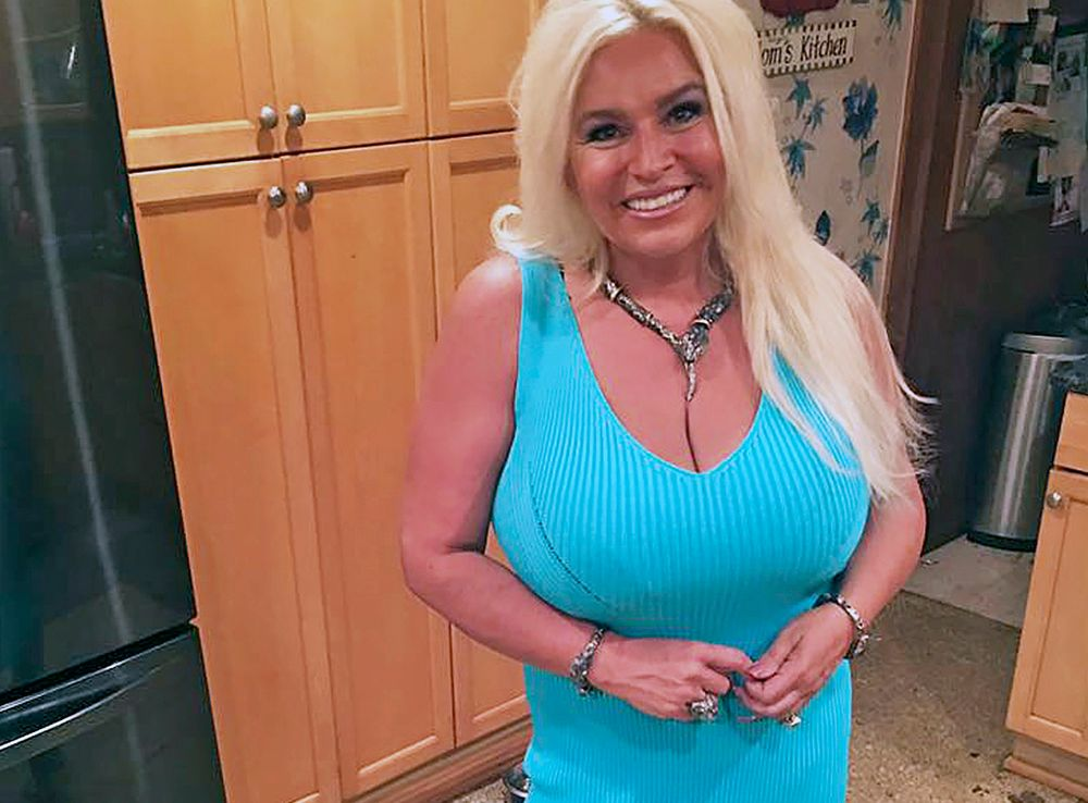 This 2017 photo provided by Mona Wood-Sword shows Beth Chapman in Honolulu. The wife of reality TV bounty hunter Duane