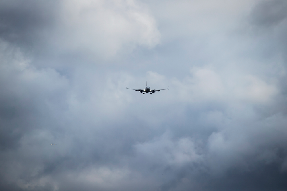An Air Canada Boeing 737 Max aircraft arriving from Toronto prepares to land at Vancouver International Airport in Richmond, British Columbia on Tuesday, March 12, 2019. Canadian Transport Minister Marc Garneau says