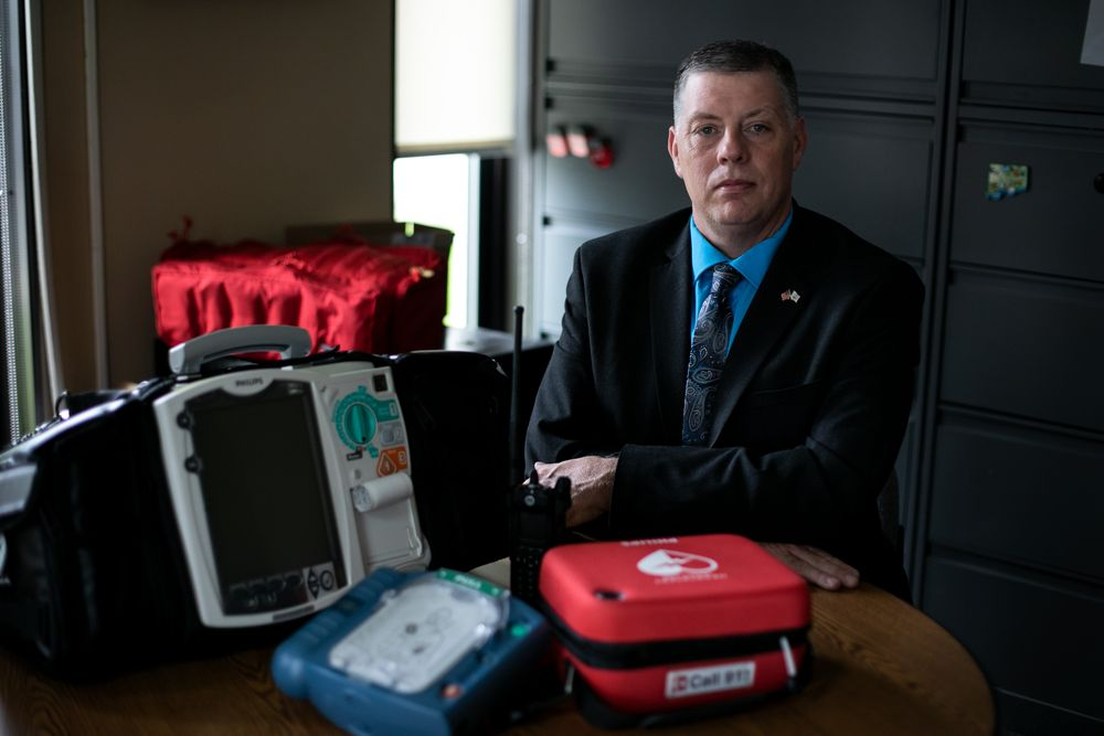 Jason Rhodes, chief of emergency medical services at the Rhode Island Department of Health, thinks the state can save lives by, in part, increasing bystander CPR rates.