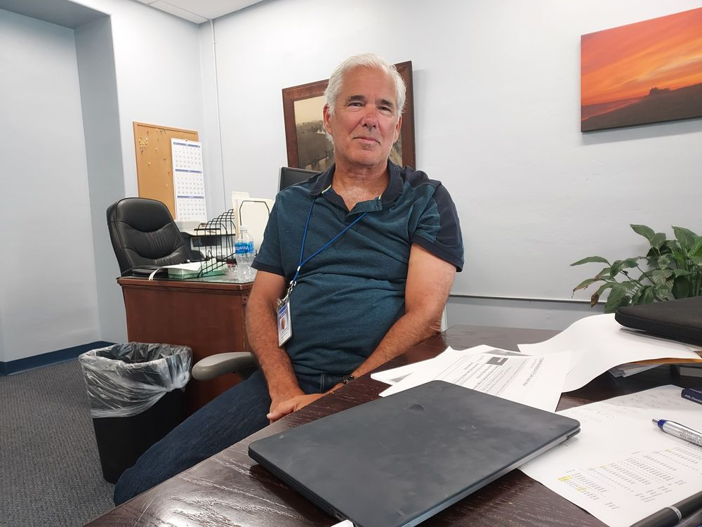 Westerly Superintendent of Schools Mark Garceau