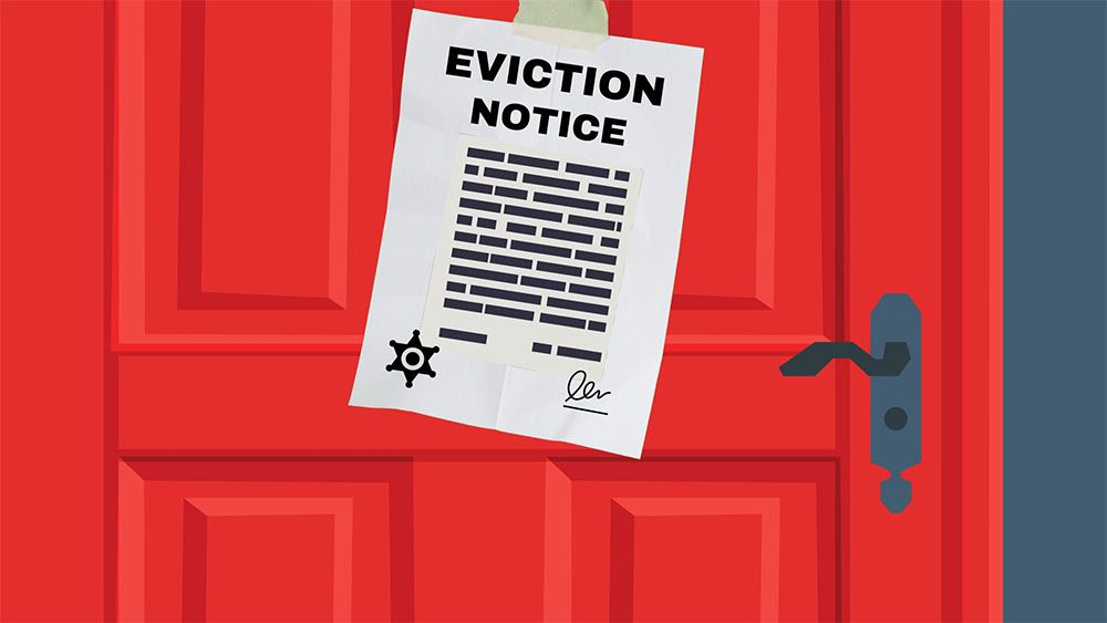 Hundreds of families on Massachusetts' South Coast are facing eviction.