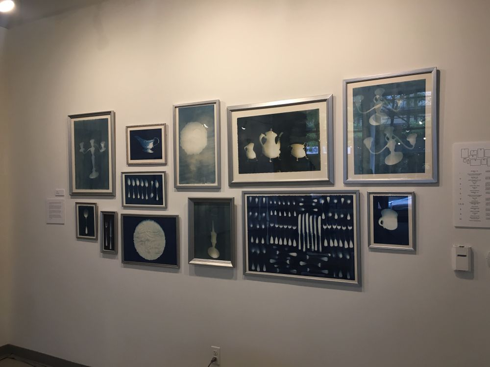 Wraith - Cyanotypes by Tina Tryforos