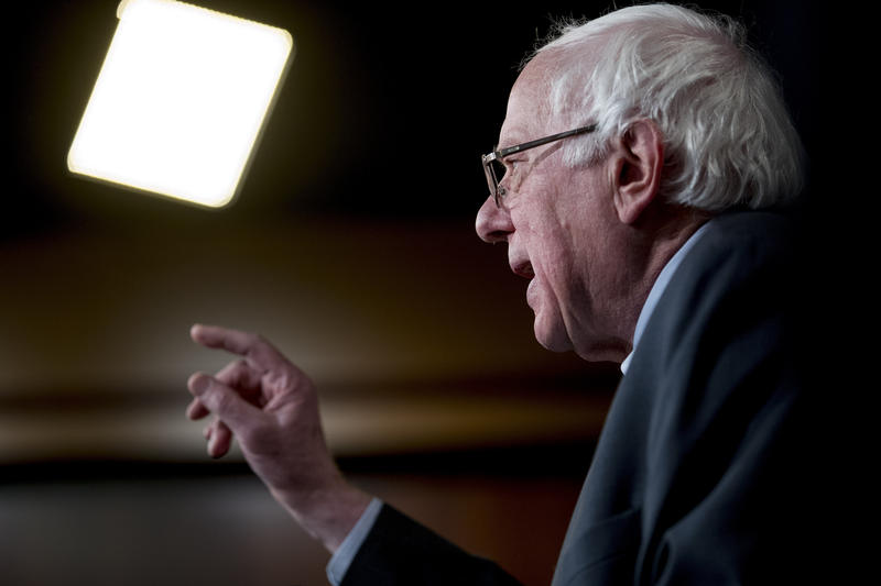 Sen. Bernie Sanders, pictured here on Jan. 30, has has confirmed that he is seeking the 2020 Democratic presidential nomination. This marks Sanders' second presidential run.