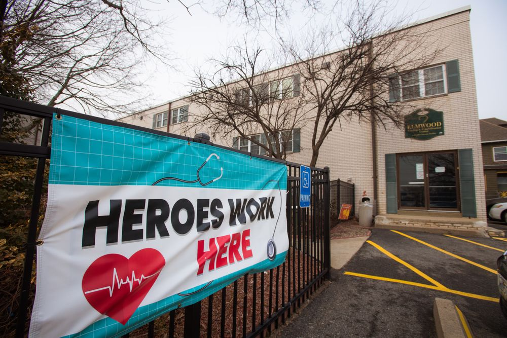 At Elmwood Nursing and Rehabilitation Center in Providence, only one in four staffers have been vaccinated against COVID-19.
