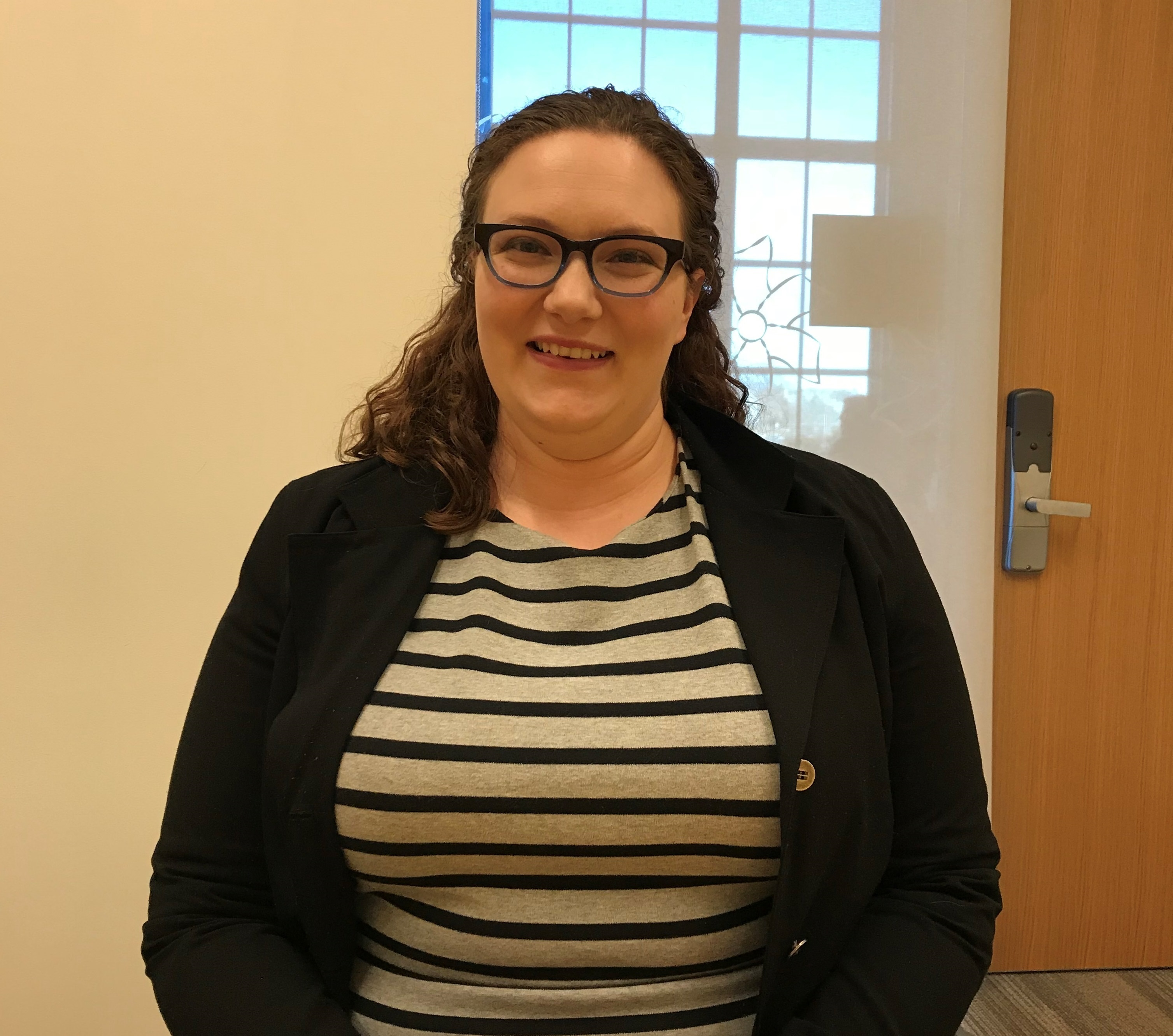 Olive Swinski is a Master's student at Rhode Island College. She works with a peer mentoring group called