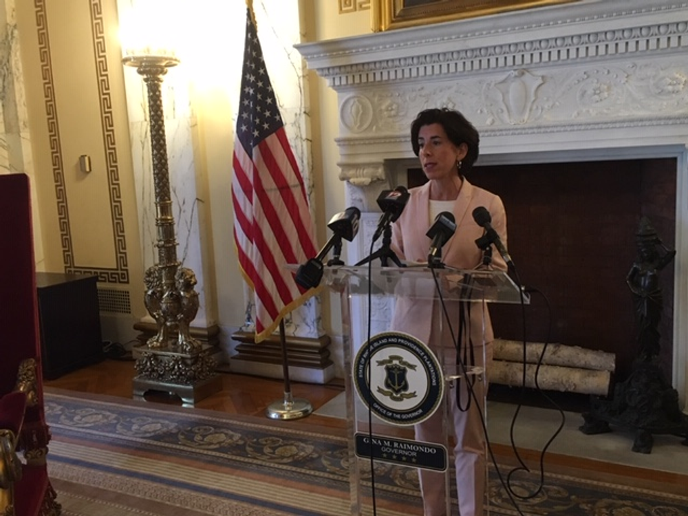 Rhode Island Governor Gina Raimondo