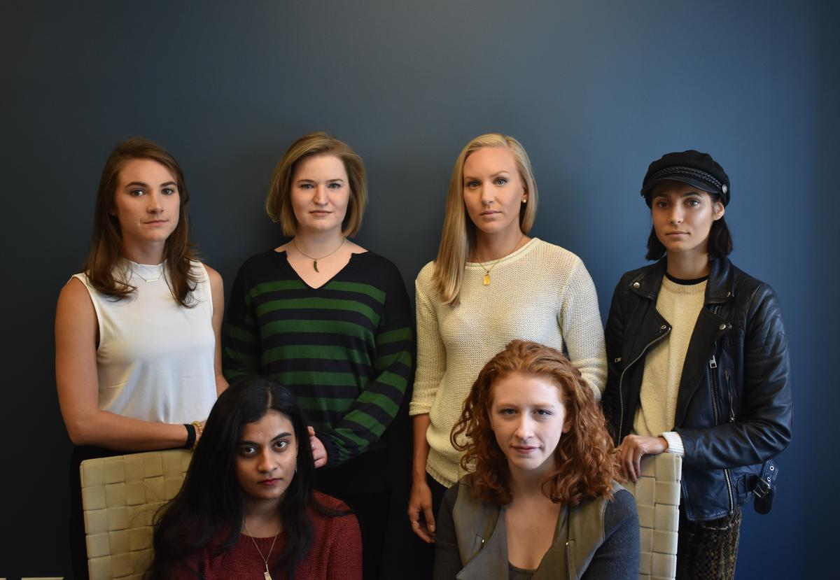 Andrea Courtney, Vassiki Chauhan, Annemarie Brown, Kristina Rapuano, Sasha Brietzke and Marissa Evans say Dartmouth failed to act on reports of sexual assault and harassment in its psychology department, putting them and other students in danger.