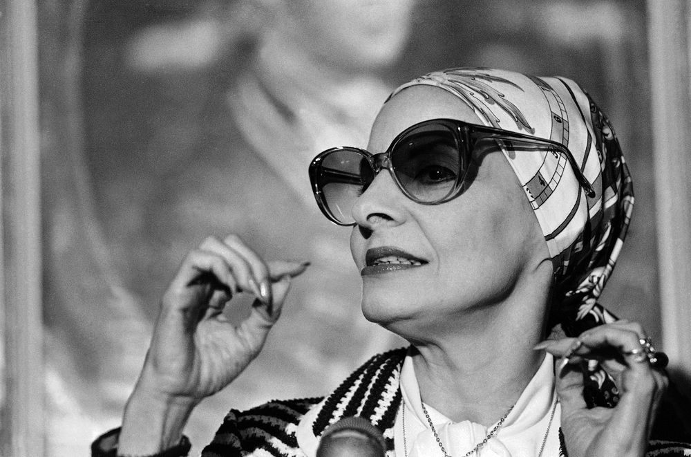 FILE - In this June 1979 file photo, Alicia Alonso, director and prime ballerina of ballet Nacional de Cuba, is making its first appearance in New England, with performances on June 14, 1979 at Boston's Music Hall. Cuba's national ballet has reported that Alonso has died on Thursday, Oct. 17, 2019. (AP Photo/Paul Benoit, File)
