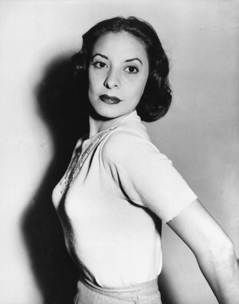FILE- In this May 17, 1953 file photo, Cuban ballet dancer Alicia Alonso is shown in London, England. Cuba's national ballet has reported that Alonso has died on Thursday, Oct. 17, 2019. (AP Photo, File)