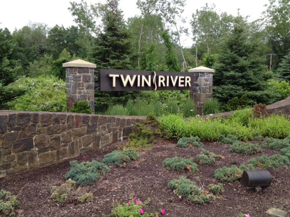 A sign outside Twin River's Lincoln casino