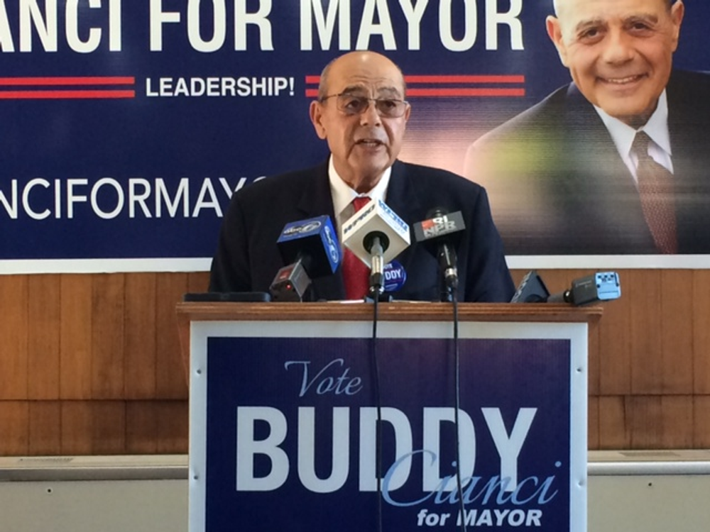 Cianci got 45 percent of the vote in 2014, but his final comeback fell short of victory.