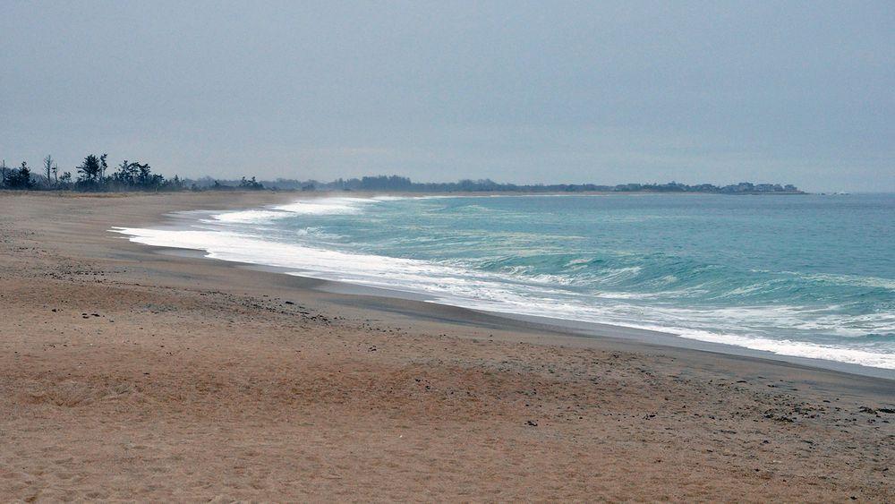 The Weekapaug Barrier Beach in Westerly.
