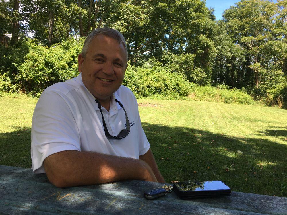 Jeffrey Wright, president of the Block Island Power Company.