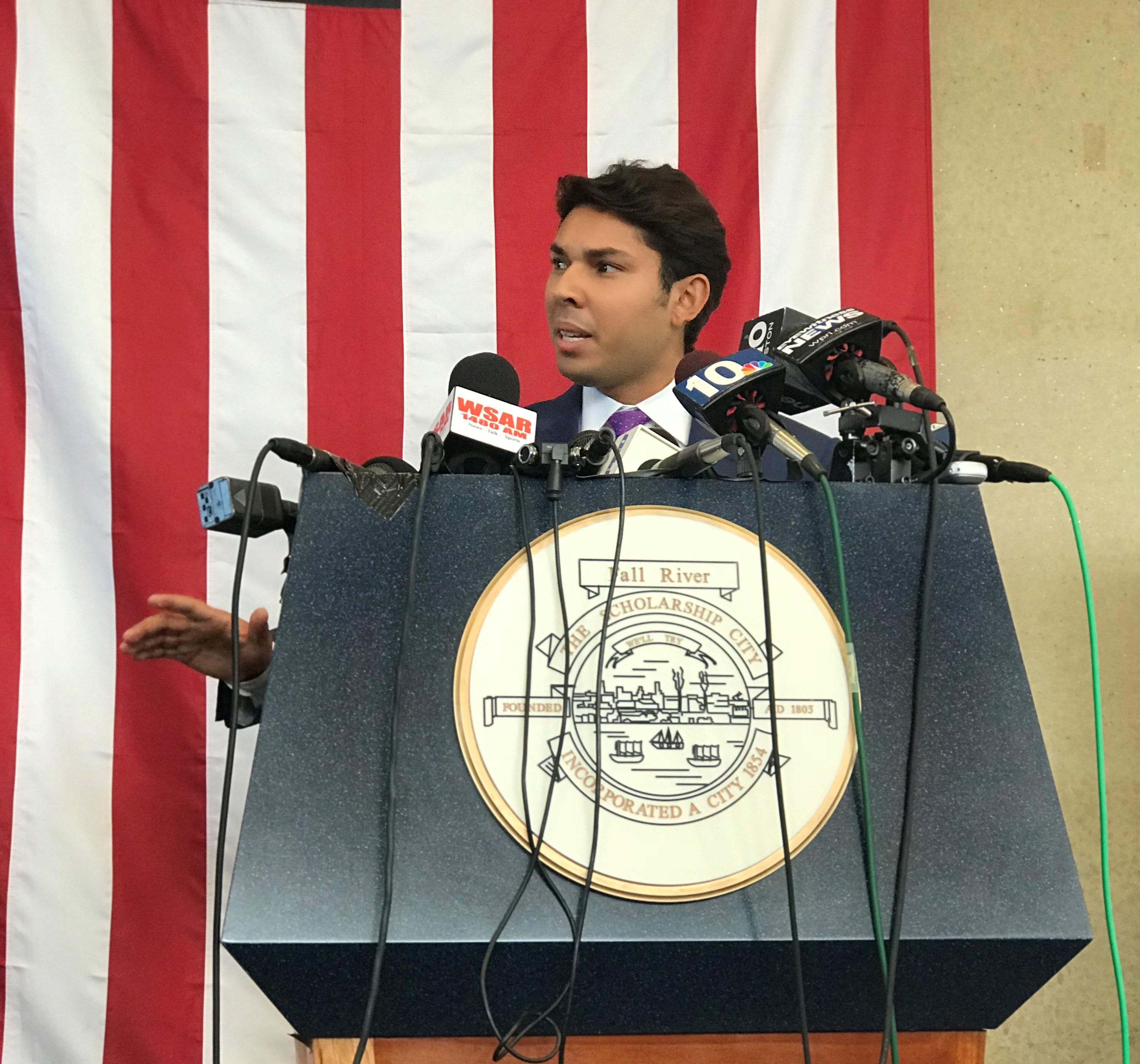 Fall River Mayor Jasiel Correia.