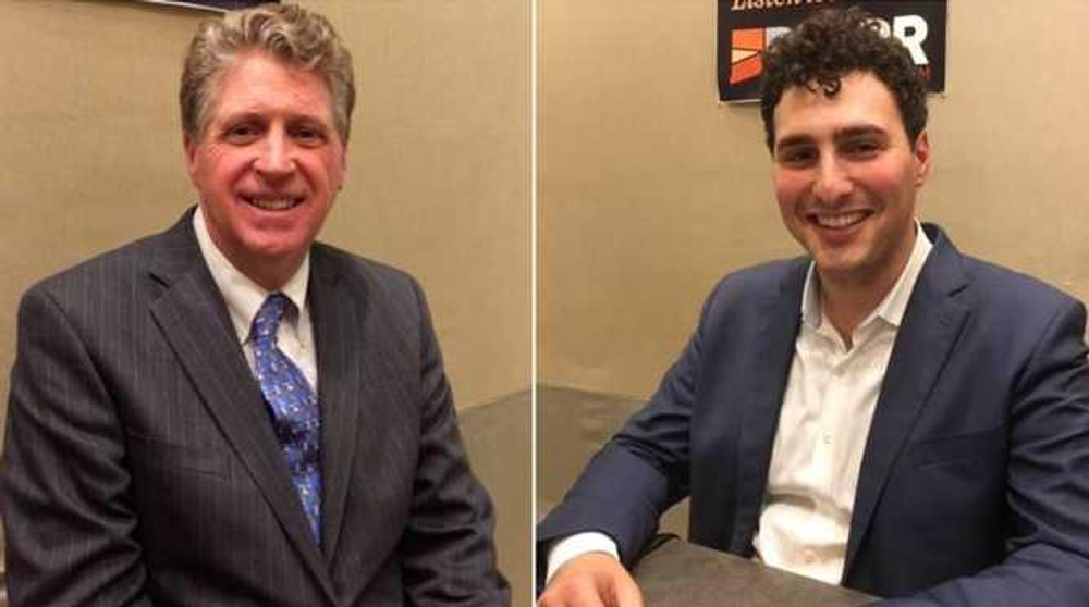 Lt. Gov. Dan McKee and challenger Aaron Regunberg rolled out endorsements part of a last-minute push for voters' support.
