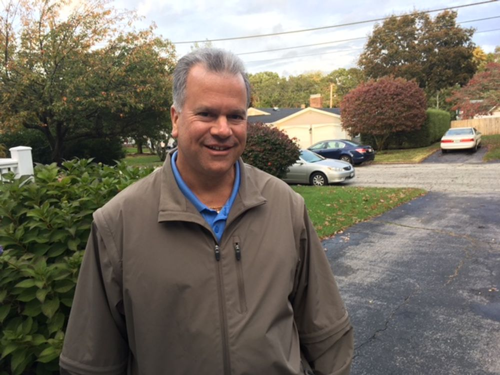 Mattiello campaigning in 2016.