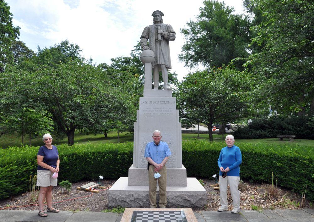 Researchers Ellen Madison (left), John Corduri, and Linda Chaffee, authors of