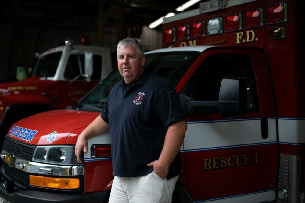 Troy Phillips, a licensed EMT who volunteers at the Oakland Mapleville Fire Department in Burrillville, Rhode Island, is trying to learn what was said on a 911 call last year after his brother Scott collapsed in a Subway sandwich shop.