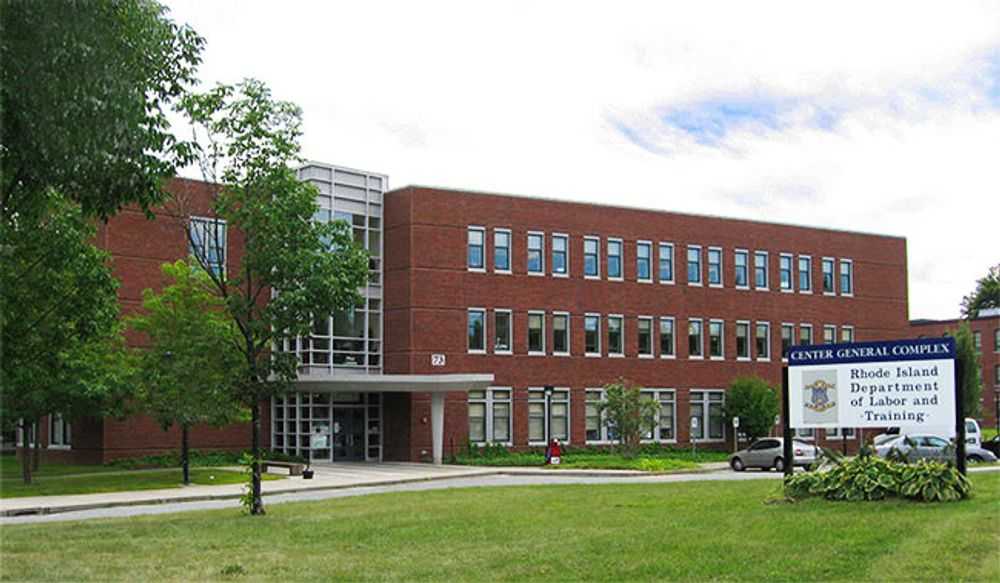 Department of Labor and Training building in Cranston