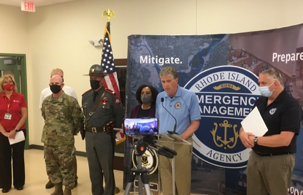 Gov. McKee said state agencies are working closely together/
