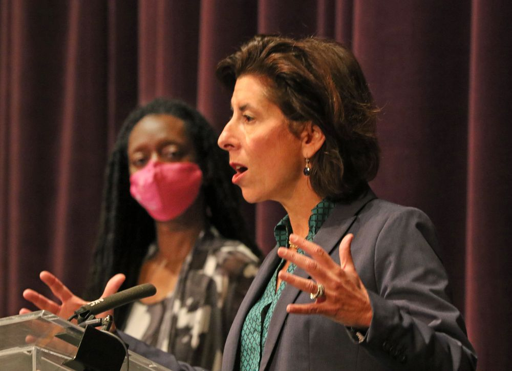 Gov. Gina Raimondo warns that R.I. coronavirus numbers are