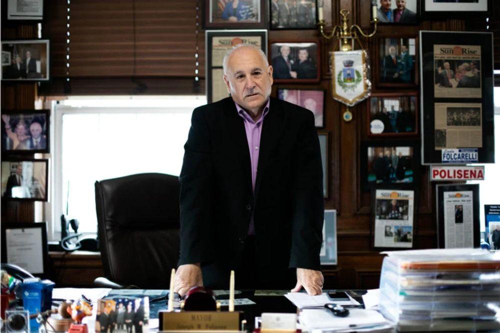 Johnston Mayor Joseph M. Polisena.