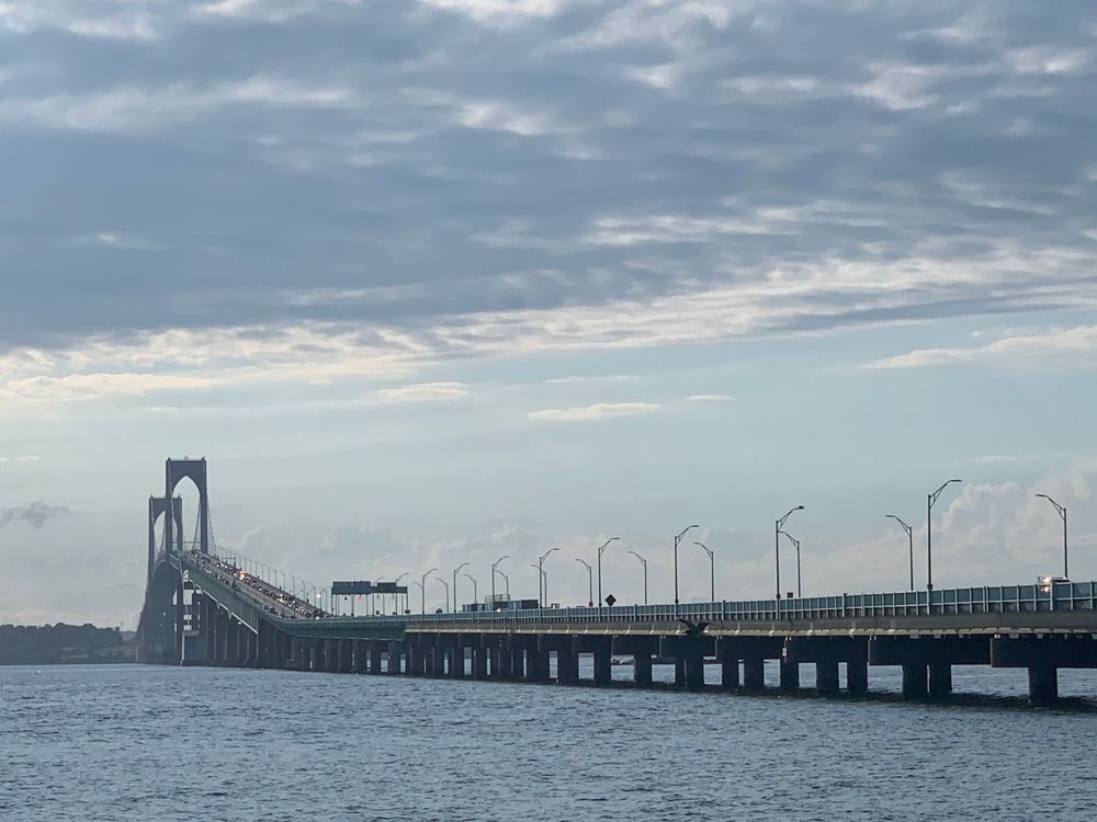 The Claiborne Pell Bridge, which connects Newport and Jamestown, is controlled by the Rhode Island Turnpike and Bridge Authority.