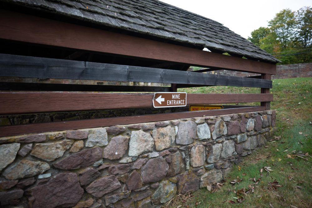 During a recent survey at Old New-Gate Prison & Copper Mine in East Granby, Conn., scientists only found a handful of bats. Federal money through the U.S. Fish and Wildlife Service recently funded a cave gate to protect the remaining bats.