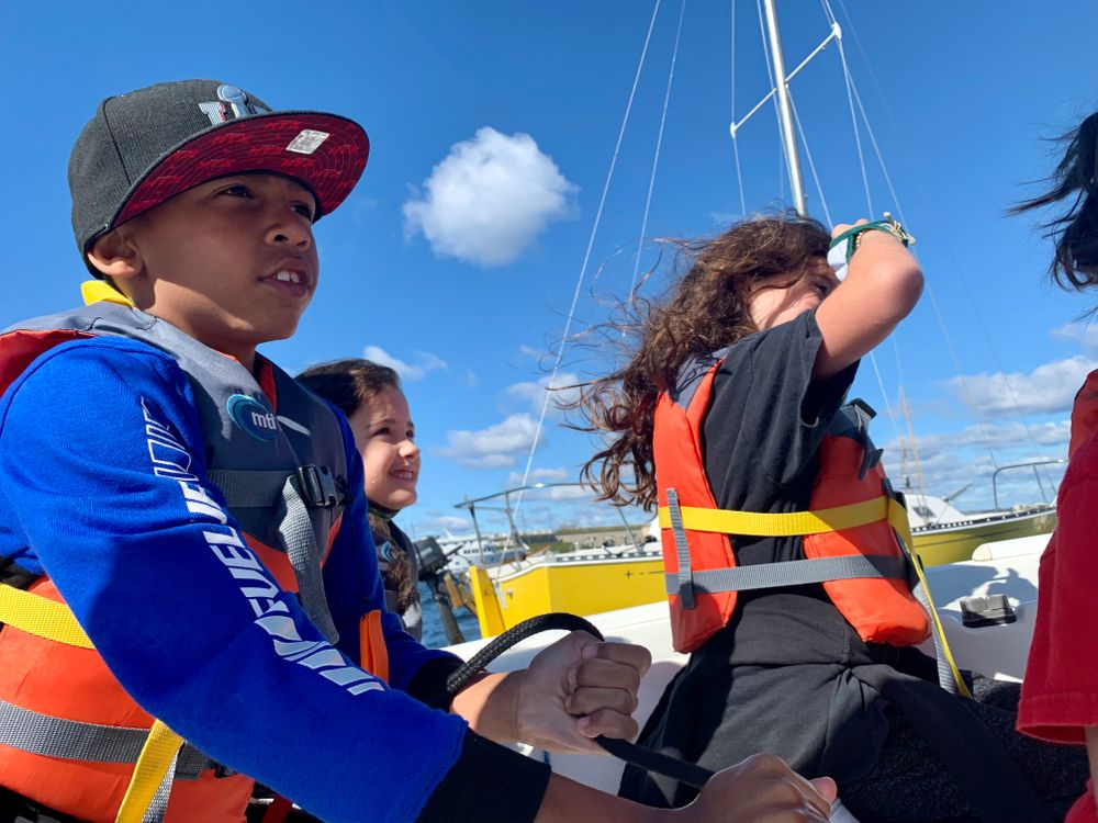 By the end of the 16-week program at Sail Newport, most fourth graders at Pell Elementary School will be prepared to help make decisions on how to sail a J/22 sailboat.